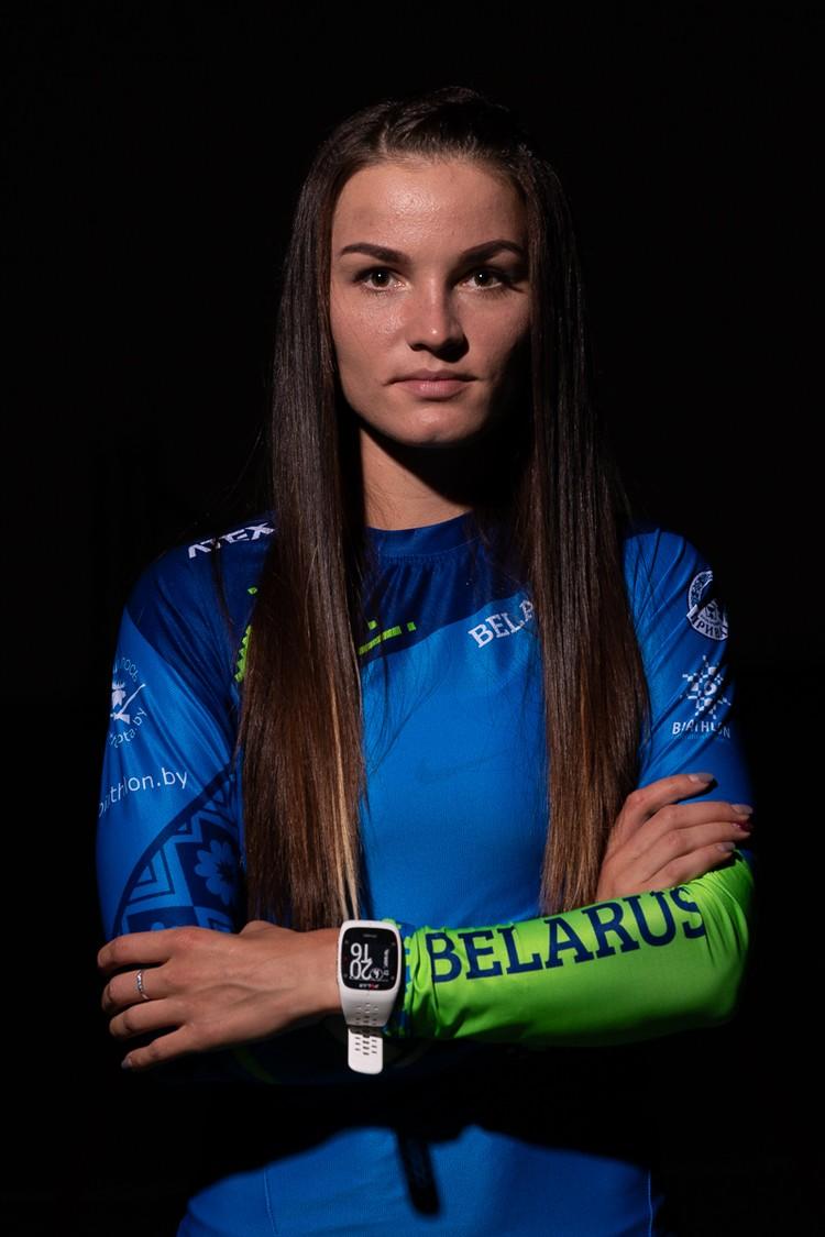 Елена Кручинкина. Фото: biathlon.by