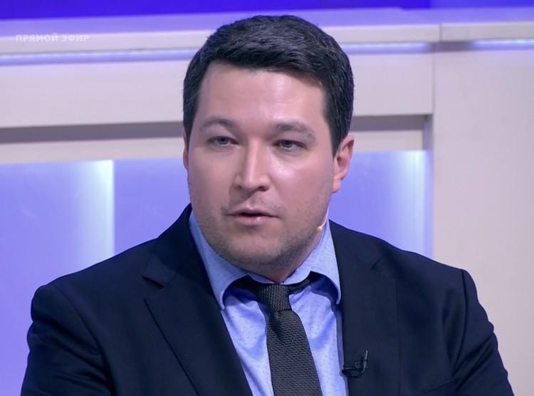 Иммунолог Николай Крючков.