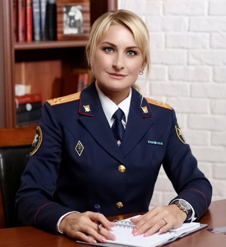 Сейчас Анастасия Садриева - полковник СКР Фото: СКР