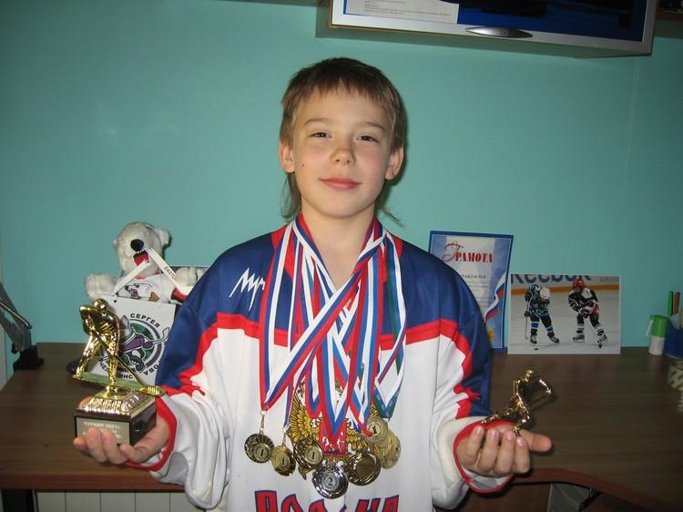 Тимур с малых лет занимается спортом