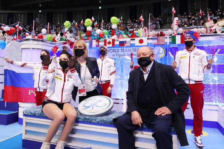 """У российской команды было большое единение в """"кике"""" на турнире в Осаке."""