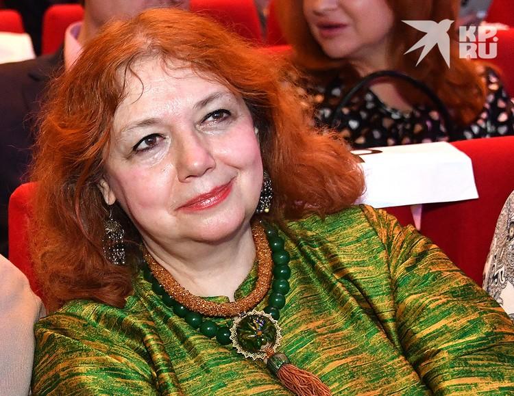 Писательница Мария Арбатова.