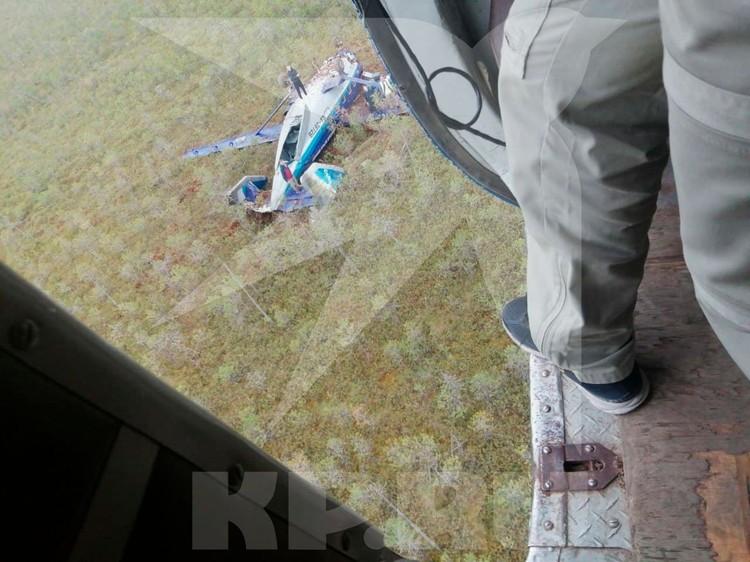К счастью, самолет быстро нашли. Фото: Сибирский авиационный поисково-спасательный центр