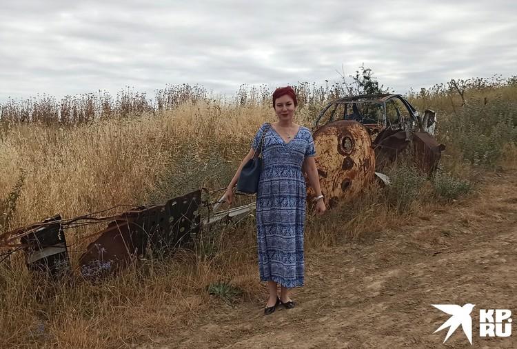 Я на армяно-азербайджанской границе, которая иногда просто выглядит как скопище ржавого железа.