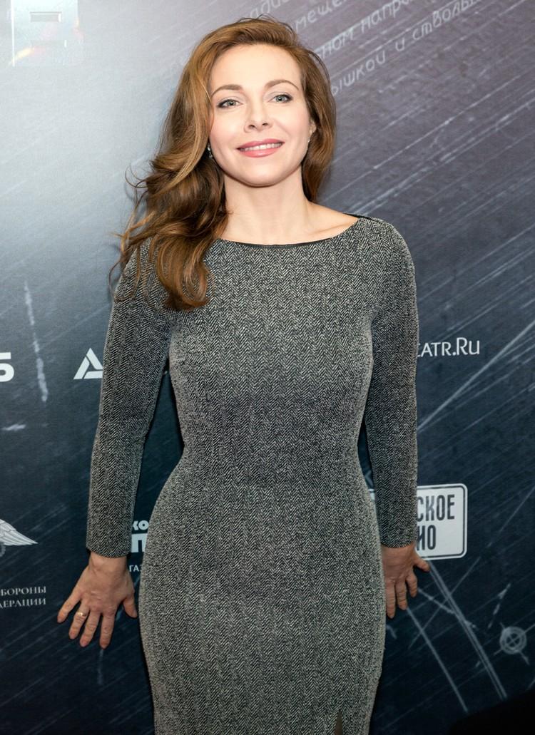 Екатерина Гусева единственная из востребованных актрис ровесниц, кто обходится без диет и уколов красоты
