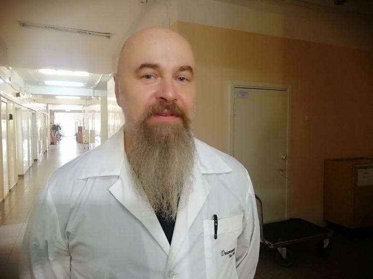Золотые руки детского хирурга Дмитрия Быкова спасли жизнь многим малышам