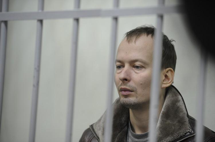 Впервые общественность увидела Александрова за решеткой в декабре 2019 года. С тех пор он находится под стражей.
