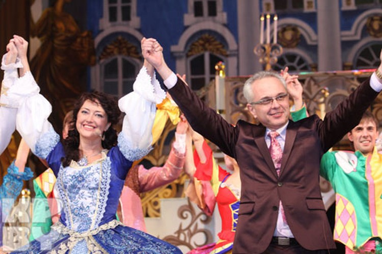 Ирина Дорофеева и Ким Брейтбург.