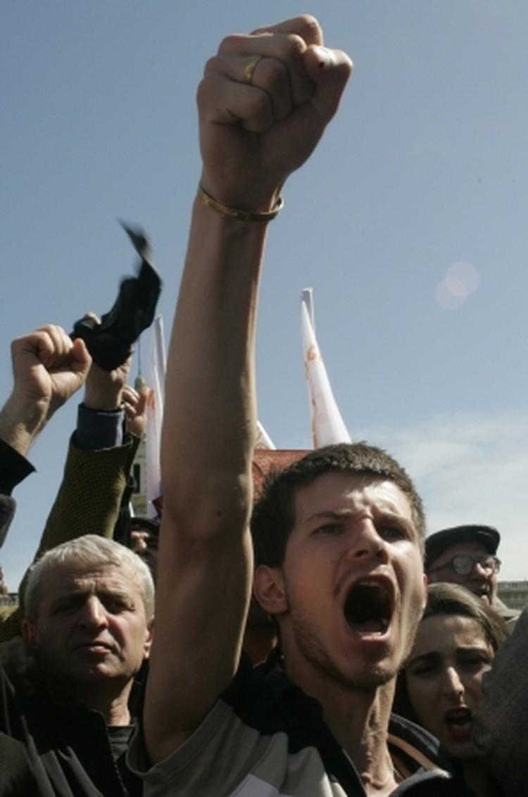 В Грузии прошли масштабные акции протеста оппозиции
