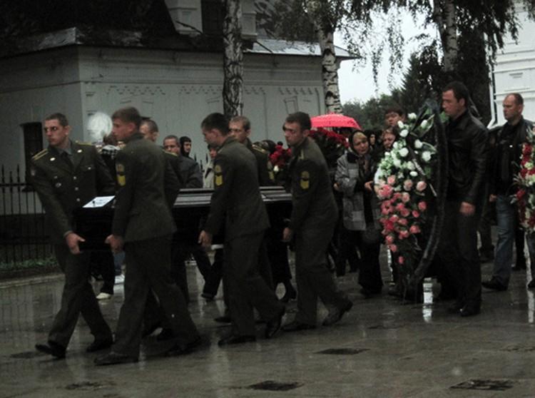 В Успенском соборе отпевали погибших в авиакатастрофе хоккеистов.