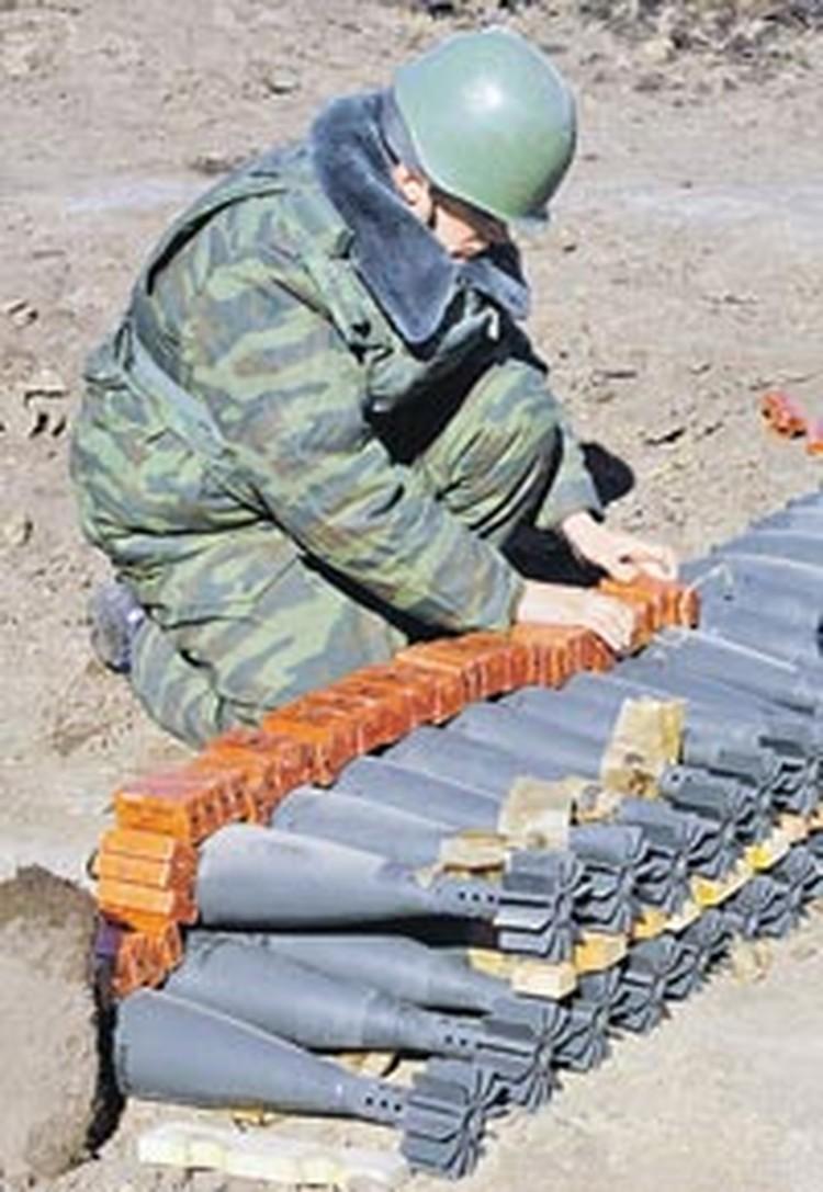 Военным приходится тратить много денег не только на новое оружие, но и на уничтожение старых боеприпасов.
