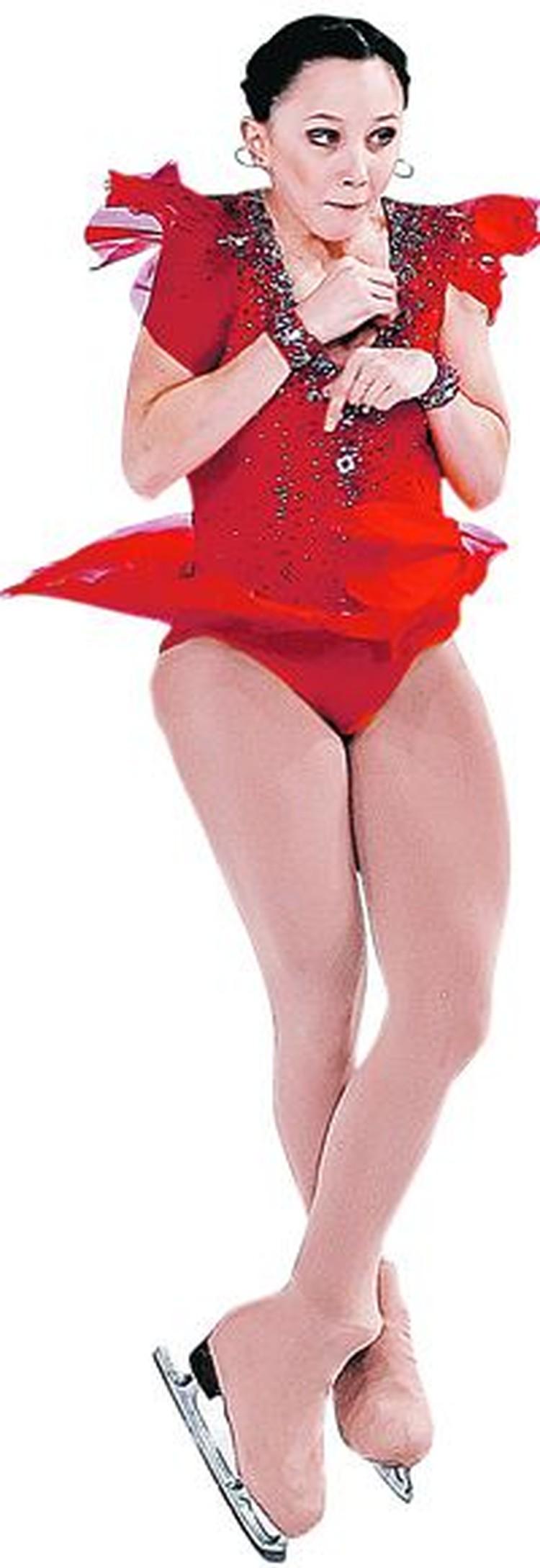 Лиза на тренировках оттачивает четверной прыжок. Когда она начнет выполнять его на соревнованиях, это произведет революцию в женском фигурном катании.