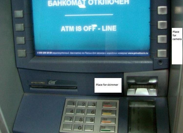Здесь же можно купить технику для воровства денег с кредиток и получить консультацию, как ее устанавливать на банкомате.
