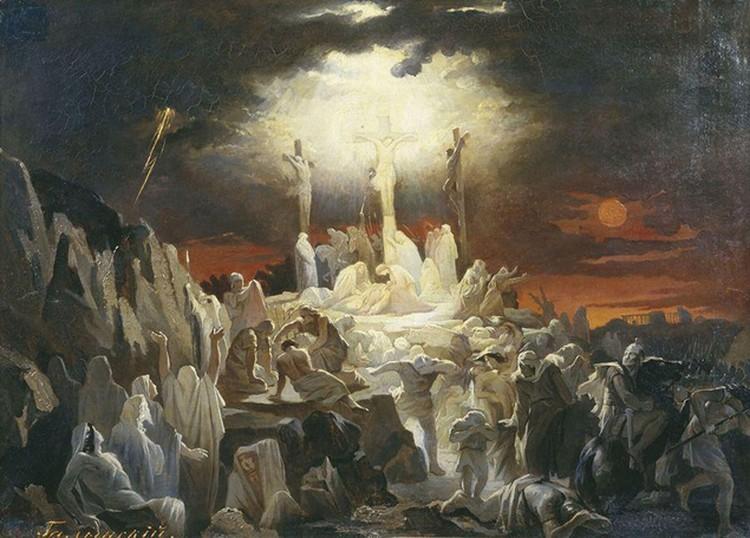 Смерть Иисуса совпала еще и с солнечным затмением