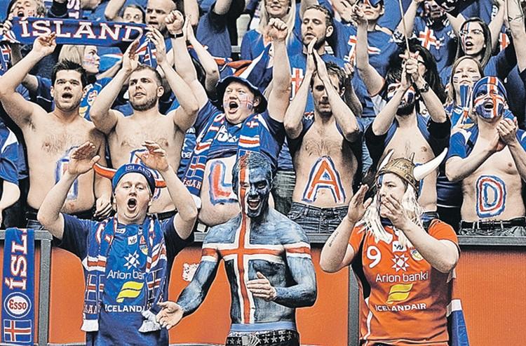 В жилах исландцев живет неукротимый дух викингов. И они умеют болеть за свою страну не только на футбольных матчах.