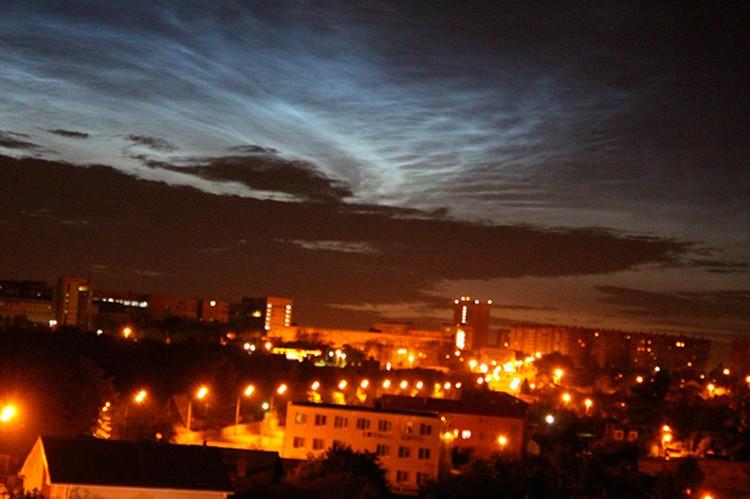 Челябинцы увидели редкое атмосферное явление