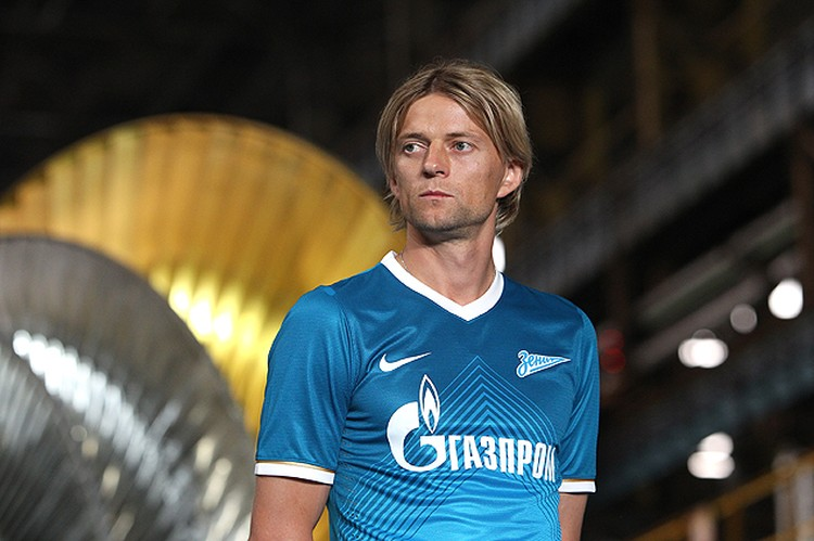 Тимощук в Петербурге чувствует себя своим