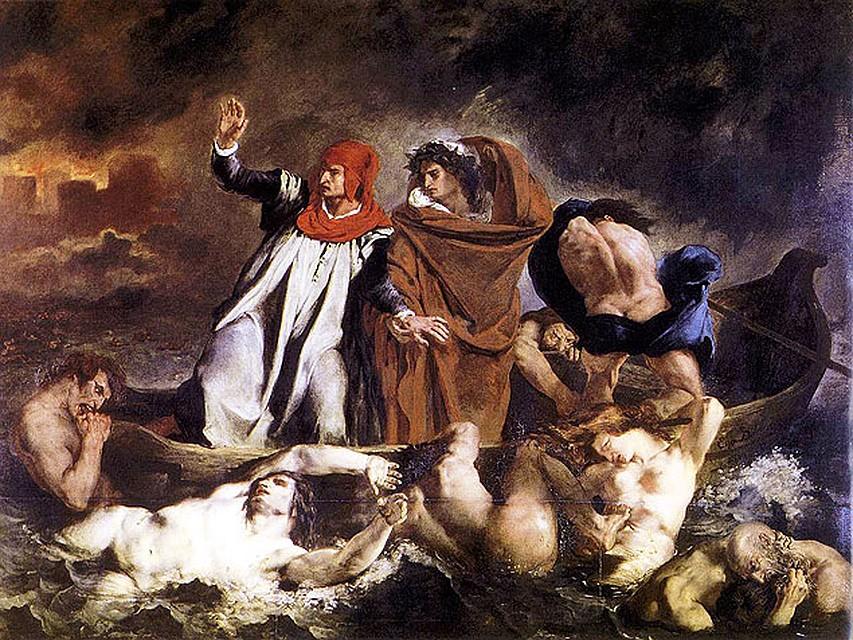 """""""Плот Данте"""", 1822 год"""