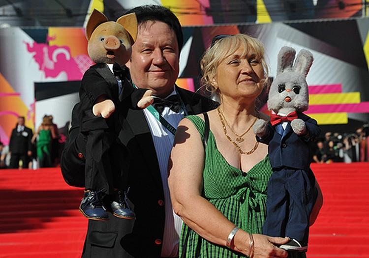 Хрюша и Степаша на 35-м Московском Международном кинофестивале