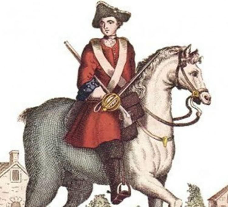 Этот портрет драгуна Кита Уолш был сделан уже после раскрытия ее тайны, но до отчисления из полка