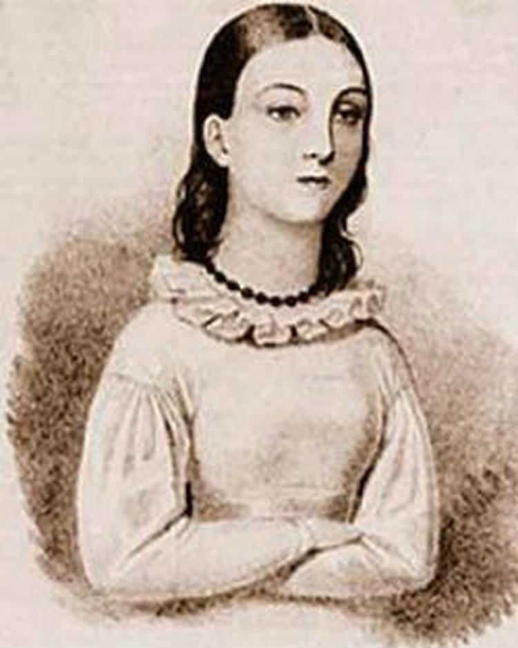 Судя по этому портрету, в юности Надежда Дурова была симпатичной девушкой. Впрочем, современиики это отрицали.