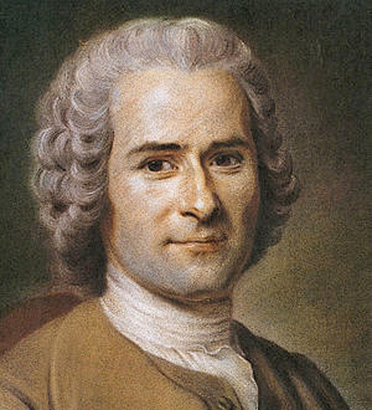 Руссо не был сторонником радикальных мер, но его идеи вдохновлялись борцов за идеалы Великой французской революции.
