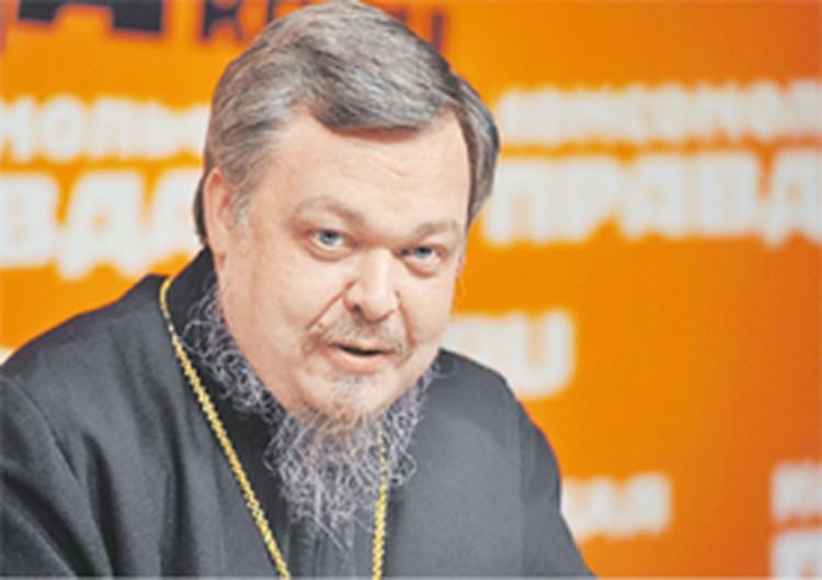 Глава отдела по взаимоотношениям церкви и общества Московского патриархата протоиерей Всеволод ЧАПЛИН