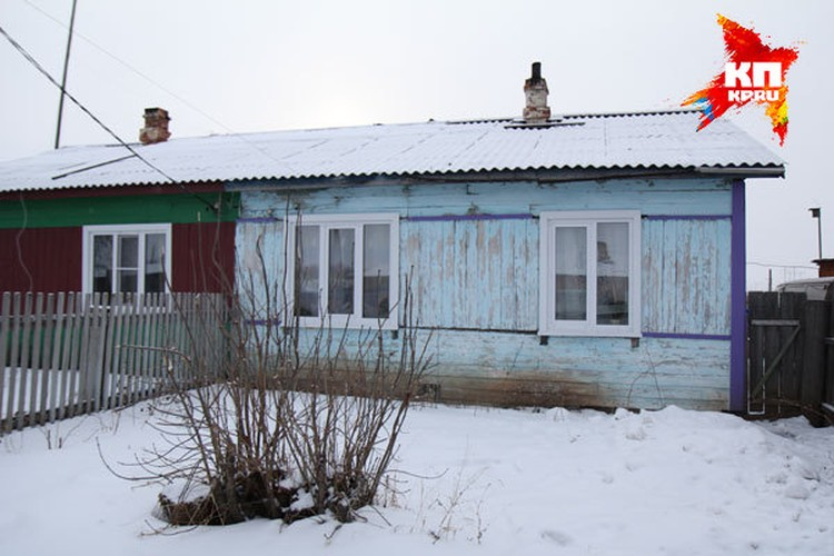 Дом родной матери Тани -Джессики в Тэми.