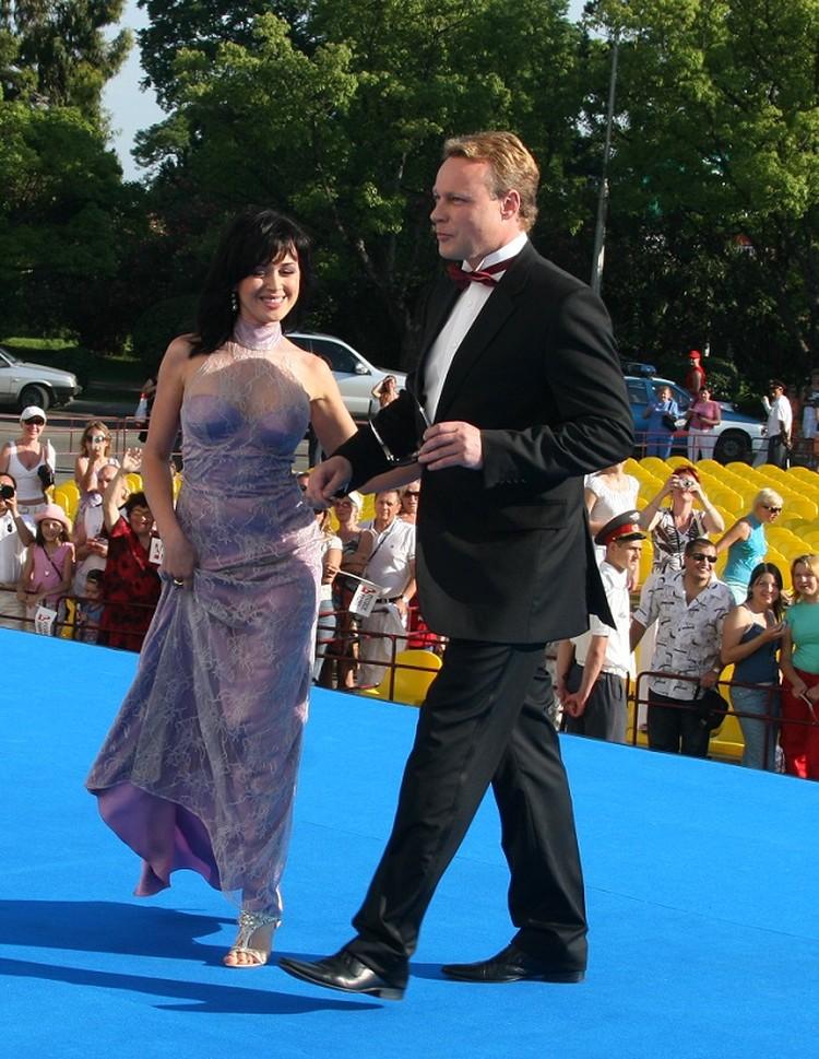 Сергей Жигунов и Анастасия Заворотнюк на Кинотавре - 2007