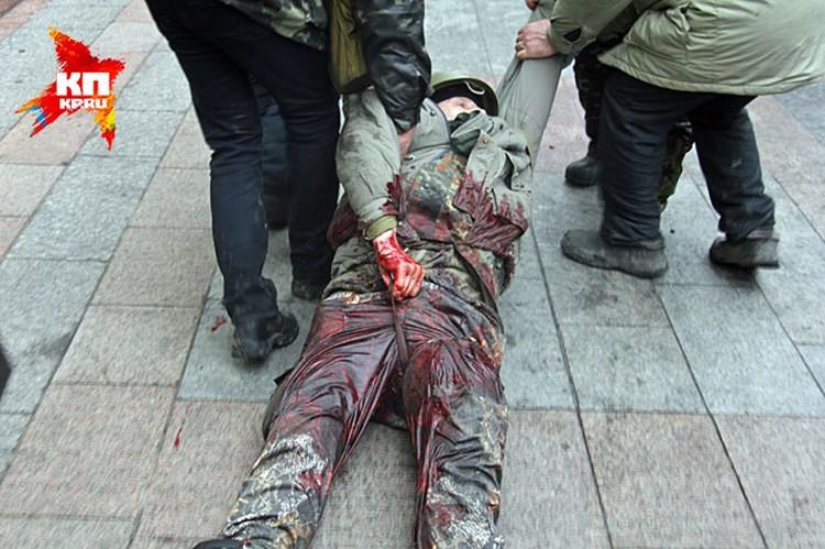 И гражданское противостояние в Киеве, да и по всей Западной Украине, плавно переходит в фазу гражданской войны