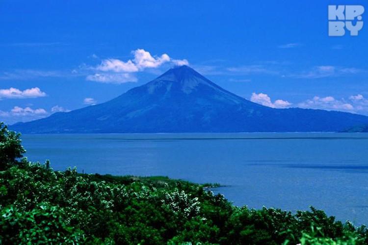 Вулкан в Манагуа.