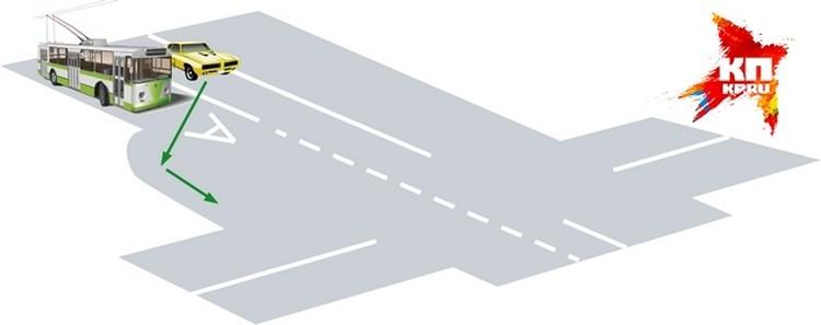 Карман для обычного транспорта, желающего повернуть направо, удастся сделать далеко не везде - места не хватит.