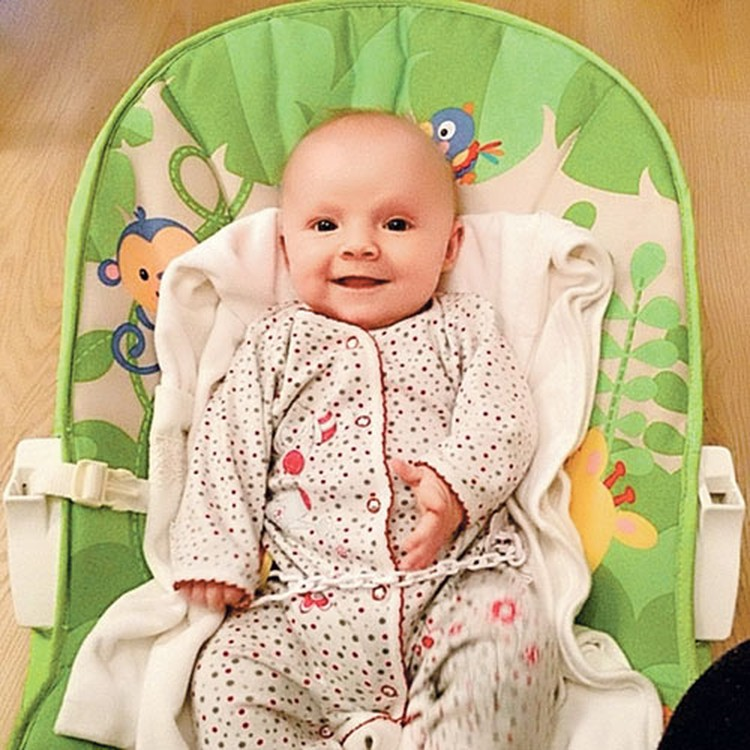 Внучка Флёрова Милана уверенно чувствует себя перед камерой - у малышки явно есть актерские задатки. Фото: Личный архив
