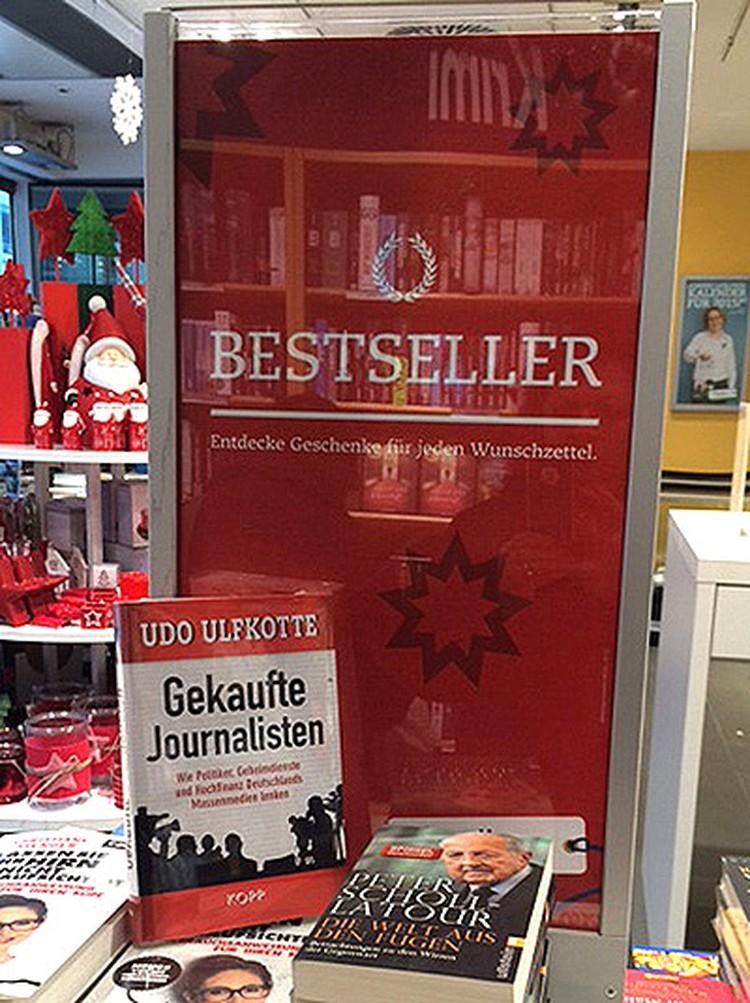 Книга Улдкоффе считается бестселлером.