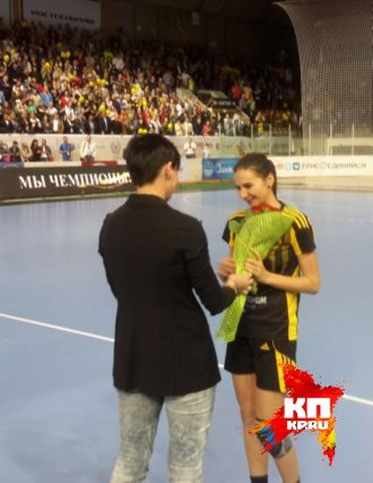 Екатерина Ильина - лучший игрок матча.