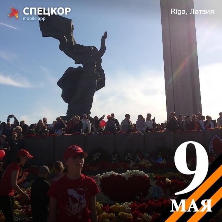 Юбилейные торжества в Риге.