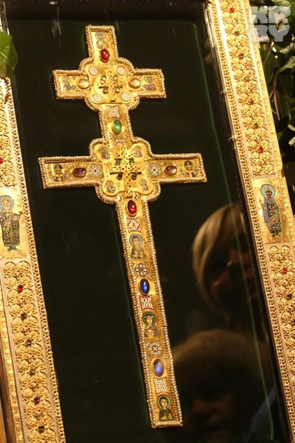 Крест Ефросиньи Полоцкой не могут найти до сих пор. Фото: Сергей ГАПОН
