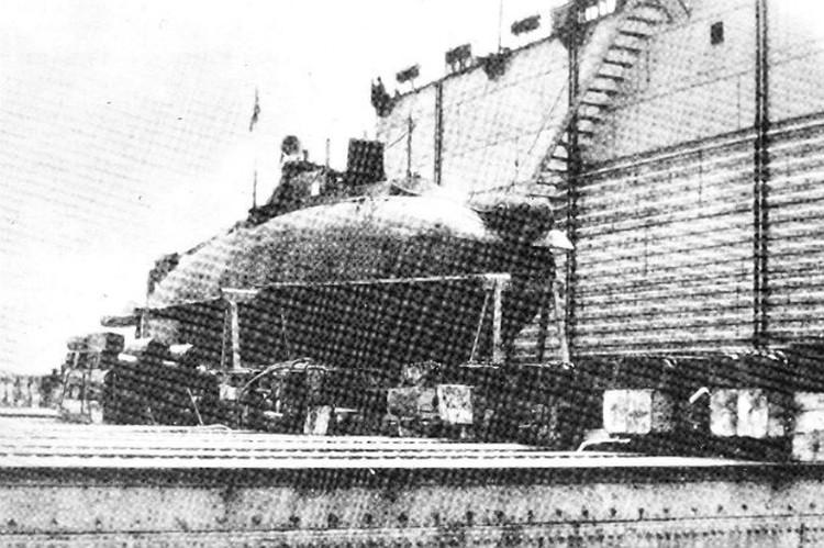 Субмарину спустили на воду в 1916 году. Фото: wikipedia.org