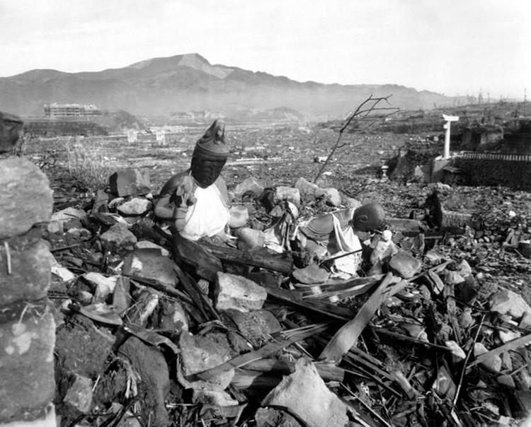 руины нагасаки
