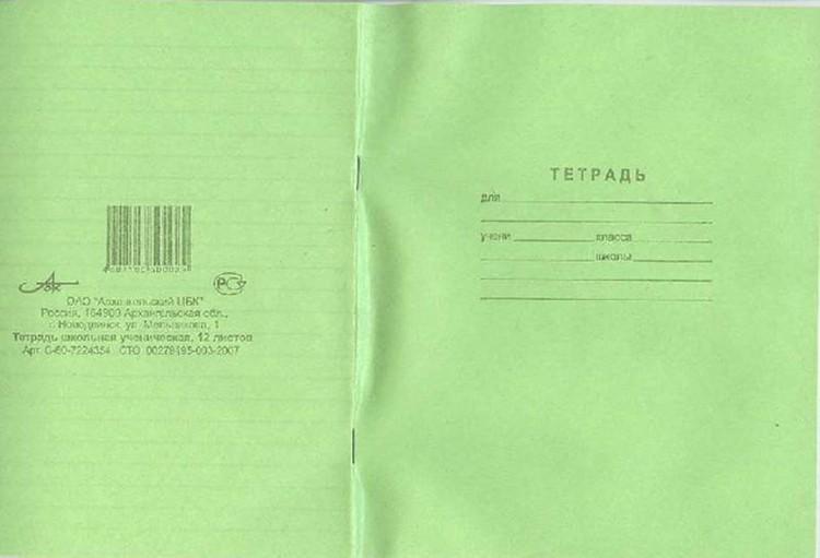 Такие тетрадки хорошо заводить для контрольных работ - настраивают на серьезный лад. Фото: labirint.ru