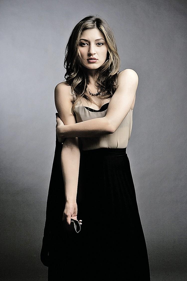 Старшая дочь Лепса Инга получила диплом искусствоведа, но пробует себя в качестве актрисы.