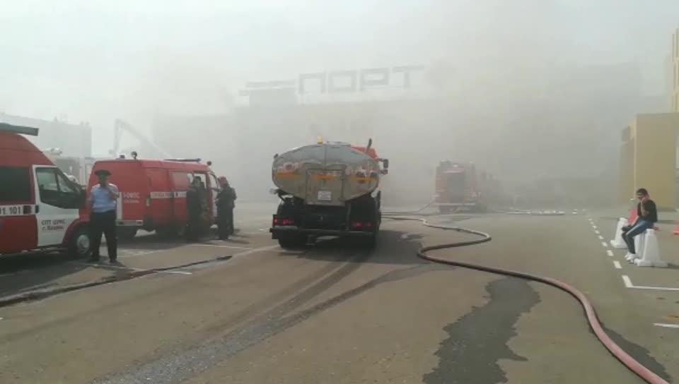 казань «мерседес» перевернулся на дороге и загорелся видео