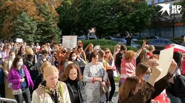 В Минске проходит женский марш (19/09/2020)