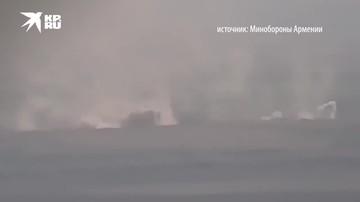 Минобороны Армении публикует новые кадры ударов карабахской армии по азербайджанским позициям