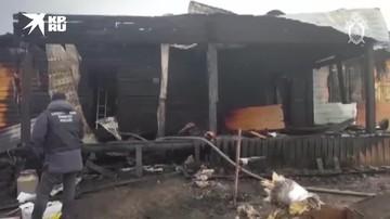 СК возбудил уголовное дело по факту гибели четырех детей и их матери в Якутии