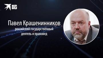 Павел Крашенинников - о новом пакете президентских поправок