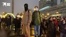 Зрители столкновений демонстрантов и ОМОНа