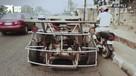 Нигериец сделал полностью рабочий автомобиль из металлолома
