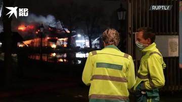 Полиция расследует предполагаемый поджог в парке развлечений в Роттердаме