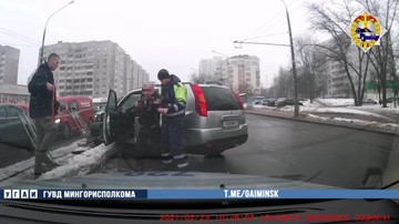 В Минске задержали водителя с 3,49 промилле алкоголя